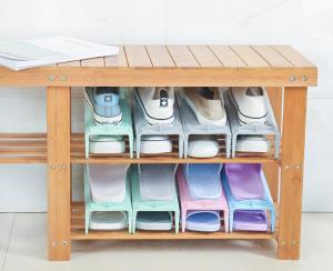 Adjustable Home Shoes Base Storage
