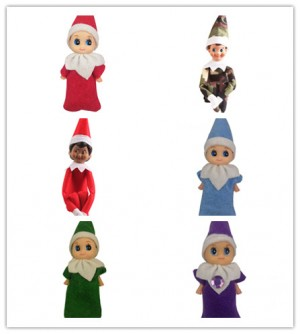 Christmas Xmas Mini Elf Doll