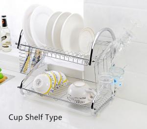 Kitchen Dish Drainer 2 Tier