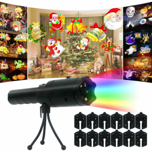 Indoor&Outdoor Christmas Projection Lamp