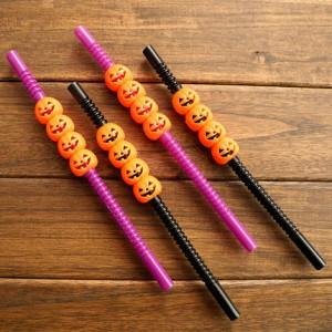 5pcs Halloween Plastic Straw
