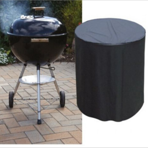 Round BBQ Grill Protective Cover