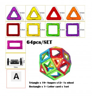 Magnetic Building Blocks Toys