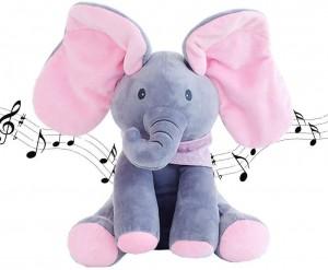 Peek-A-Boo Singing Plush Toy