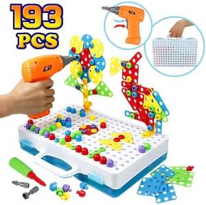 3D Puzzle Screw Toy