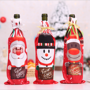 Christmas Style Wine Bottle Bag