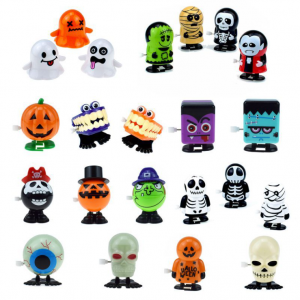 5 Pieces Halloween Wind-up Toys