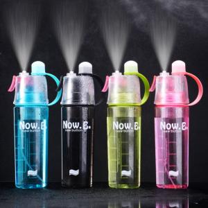 600ML Spray Water Bottle