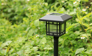 Outdoor Solar Fence Post LED Light