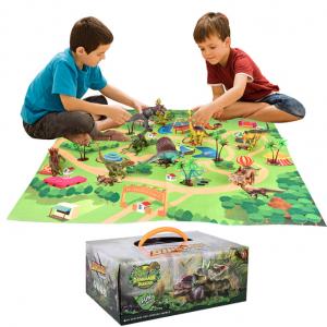 Dinosaur Toy Figure Play Mat