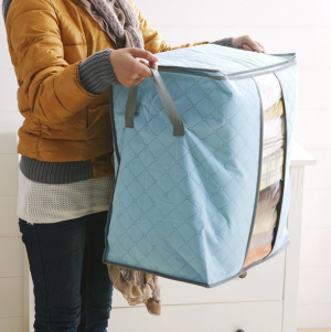 Zipper Thick Clothing Storage Bag