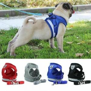 Pet Breathable Mesh Harness Vest