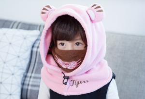 Tiger Hooded Scarf