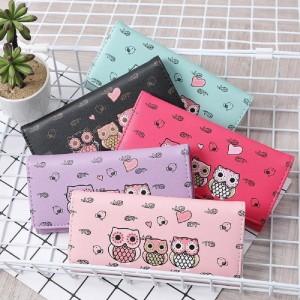 Owl Long Wallet