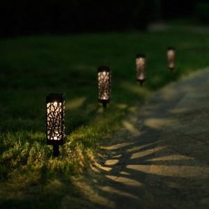 LED Solar Ground Garden Lights
