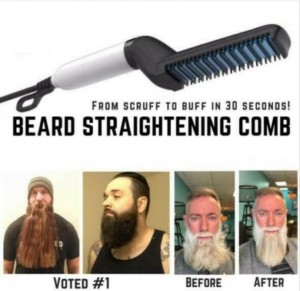 Beard Straightener Multifunctional Hair Comb