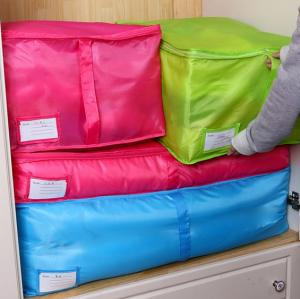 Zipped Handle Clothes Storage Bag