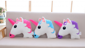 Unicorn Cartoon Sleeping Pillow Cushion