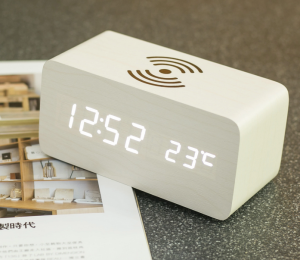 LED Digital Alarm Wireless Charger