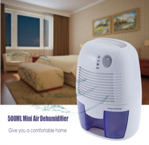 500ml Electric Mini Air Dryer Dehumidifier