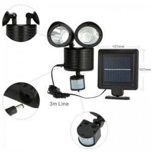 Dual Security Solar Spot Light Detector