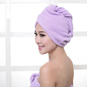 Water Absorbing Dry Hair Towel