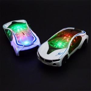 3D Electric LED Flashing Light Car