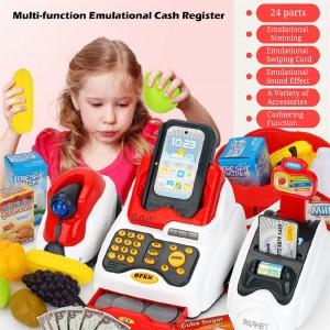 Children Supermarket Cash Register Toys