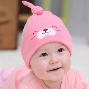 Cartoon Bear Baby Hat