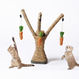 Cat Scratching Toy Tree Post