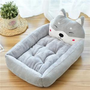 Cartoon Soft Pet Bed