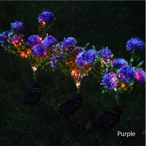 Solar Dandelion Lawn Light