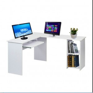 L-Shaped Corner Computer Desk