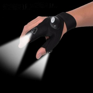 FINGER NIGHT GLOVE WITH LED LIGHT