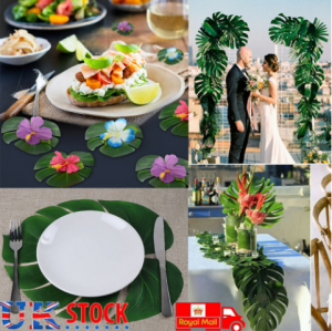 Artificial Palm Leaves Party Decorations
