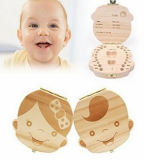 Baby Tooth Memorial Box