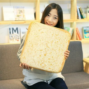 Toast Bread Slices Cushion